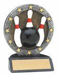 Custom Bowling All Star Resin Figure - 4 1/2