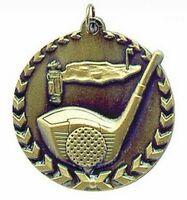 """Medal, """"Golf"""" - 1-3/4"""" Millennium STM"""