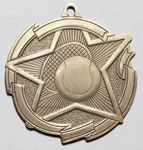 Custom Star Medals -