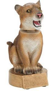 Bobble Head - Resin Cougar