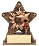 Custom Victory Starburst Resin Award