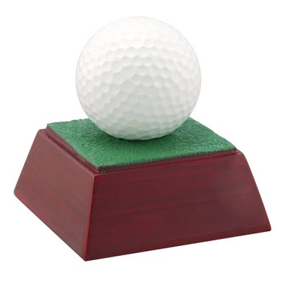 Golf, Full Color Resin Sculpture - 4""