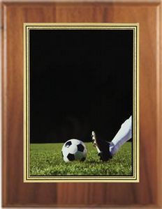 Custom Printed Soccer Photo Sport Plaques
