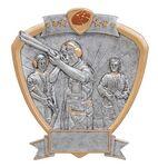 Custom Trap Shooter Signature Shield Award