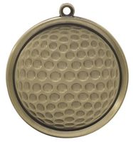 Golf Mega Medal - 2-1/4""