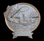Custom Fishing, Bass - Oval Sport Legend Plates - 8