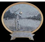 Custom Golf, Male - Oval Legend Plates - 8