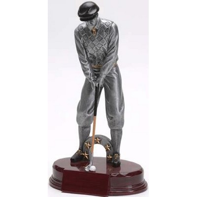 Golf, Male - Resin Figures - 10-1/4""