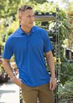 Custom Men's Harrison Syntrel Surface Mesh Polo