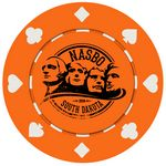 Custom Suited Style Poker Chips (10 Colors) Fast Turn 3-5 Days! No Minimums (1 Side Imprint)