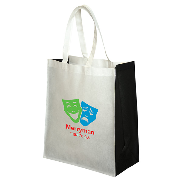 Non Woven Jumbo Grocery Tote, NW7048, 1 Colour Imprint
