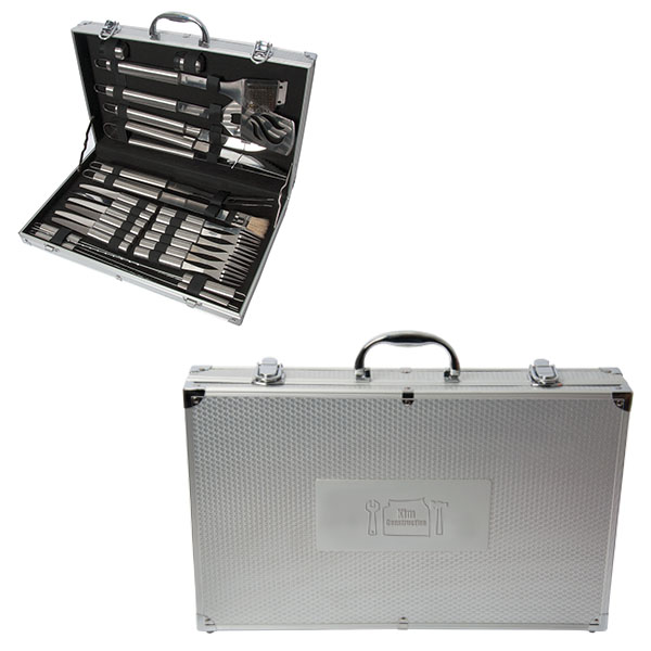 Chef Star 24 Piece Bbq Set, B0020, 1 Colour Imprint