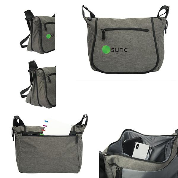 Savannah Ride Messenger Bag, P9436, 1 Colour Imprint