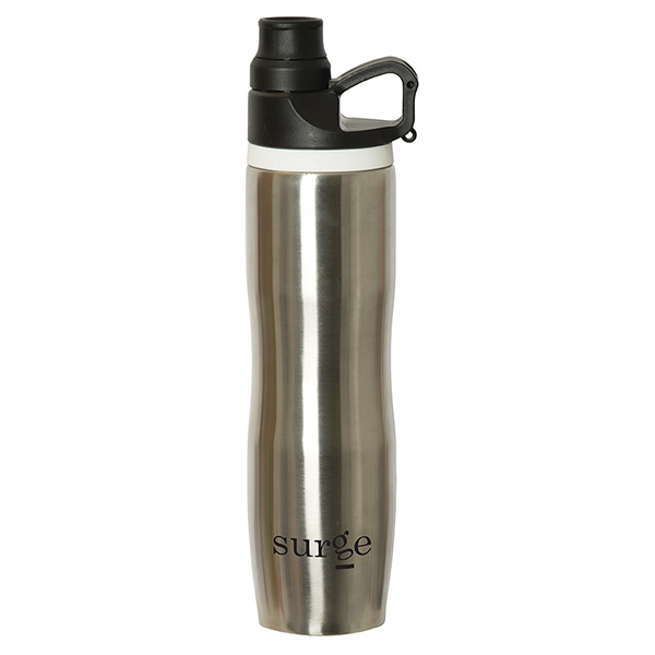 Sub-Marcote 591 Ml. (20 Fl. Oz.) Stainless Steel Bottle, WB9317, 1 Colour Imprint