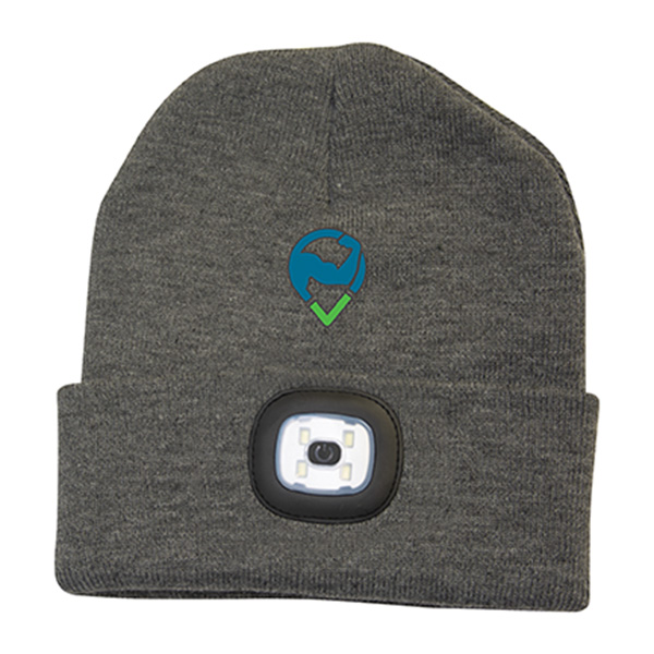 Twilight Toque With LED Light, WC9692, 1 Colour Imprint