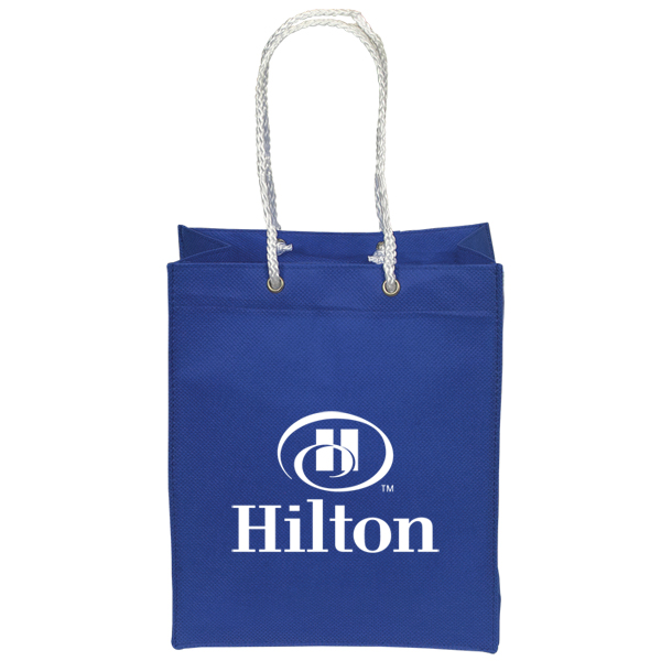 Mini Non Woven Tote/Gift Bag, NW6860, 1 Colour Imprint