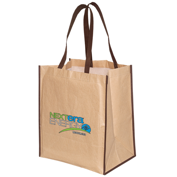 Kraft Paper Tote, TO7244, 1 Colour Imprint