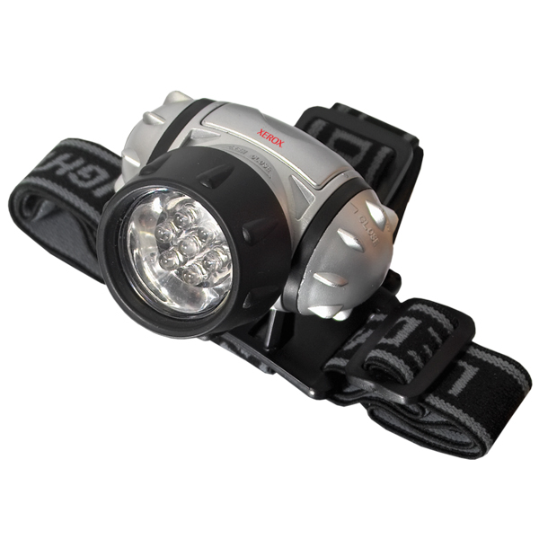 7 LED Hands Free Head Light, FL4503, 1 Colour Imprint