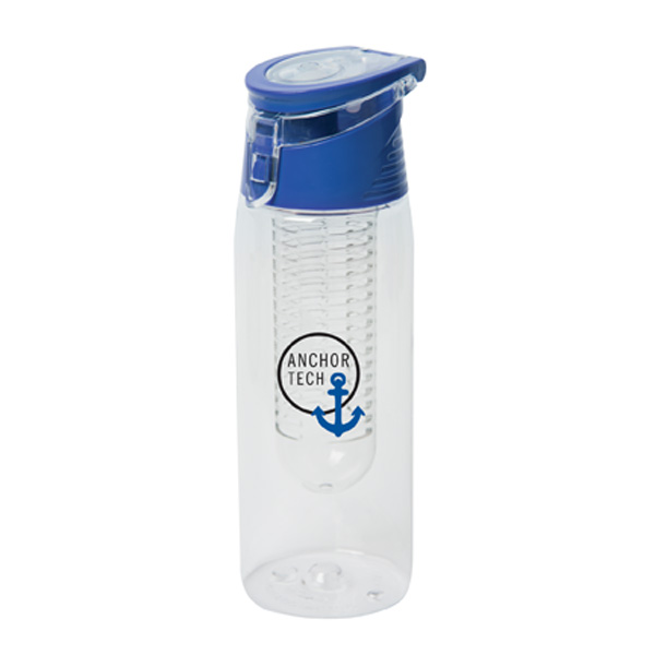 Selma Sipper 680 Ml. (23 Fl. Oz.) Tritan Infuser Bottle, WB9027, 1 Colour Imprint