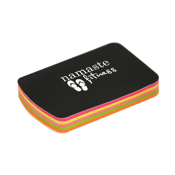Straight-A 100 Mini Sticky Notes Booklet, CA8993, 1 Colour Imprint