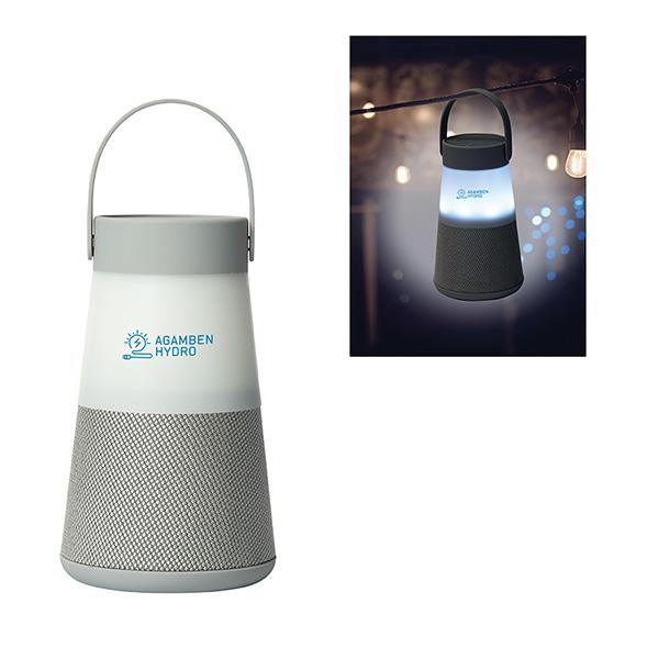 Sable Wireless Speaker Lantern, CU9527, 1 Colour Imprint