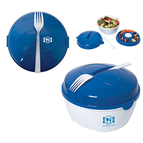 Trainer On-The-Go Salad Bowl, KP8805, 1 Colour Imprint