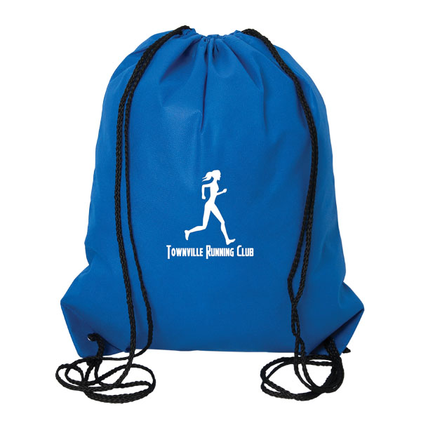 Urban Adventurer Non Woven Drawstring Backpack, NW9190, 1 Colour Imprint