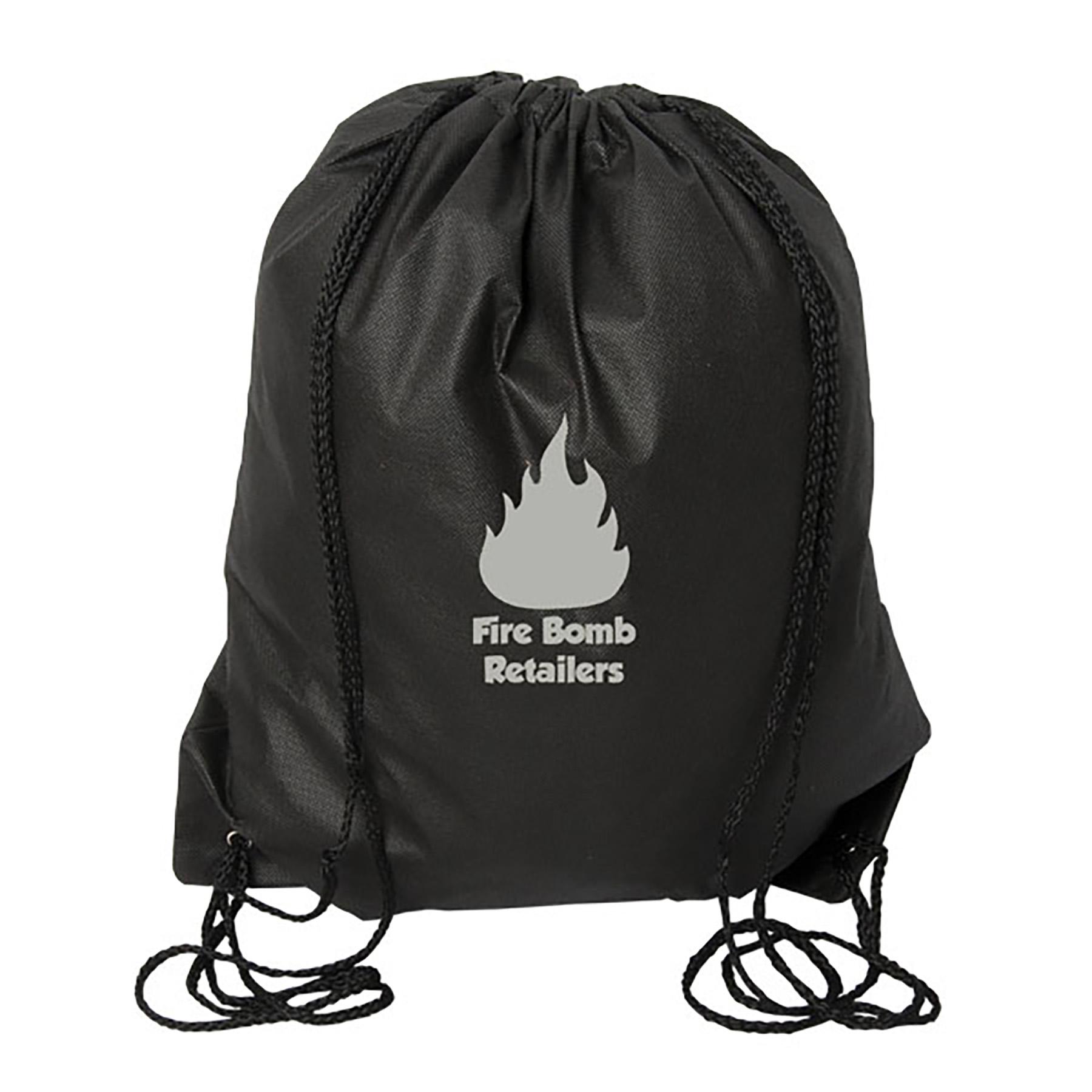 Urban Adventurer Non Woven Drawstring Backpack, NW9190, 1 Colour Imprint