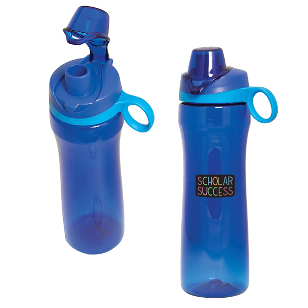Bench Presser Tritan 750 Ml. (25 Fl. Oz.) Water Bottle, WB6995, 1 Colour Imprint