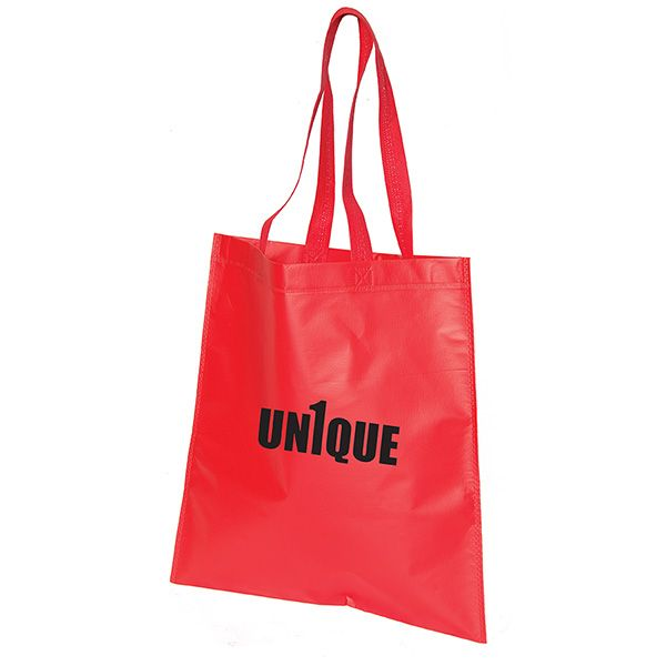 Bree Heat Sealed Laminated Tote Bag, TO9039, 1 Colour Imprint
