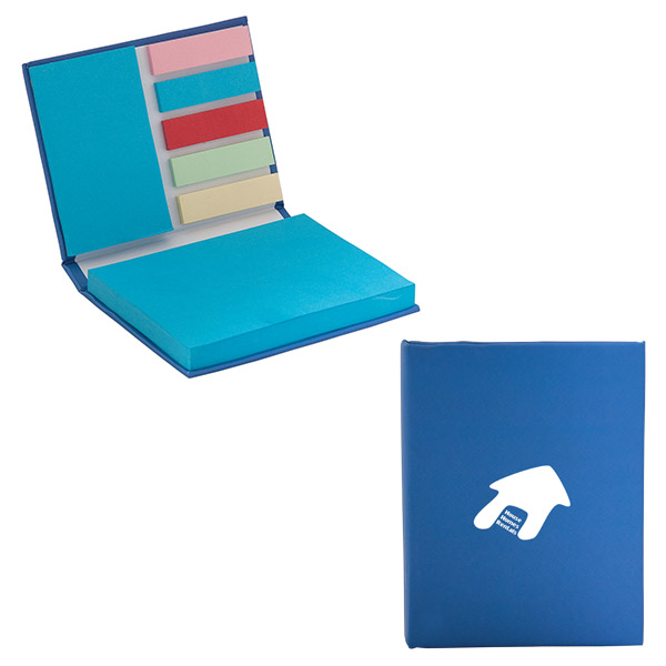 The Assistant 250 Sheet Sticky Note Book, DA8591, 1 Colour Imprint