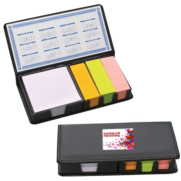 500 Sticky Note Organizer, DA4739, 1 Colour Imprint