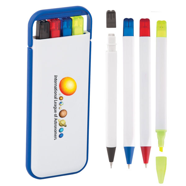 4-In-1 Pen Set, PE4895, 1 Colour Imprint