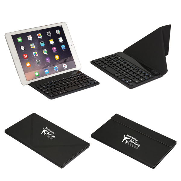 Key Commander Wireless Keyboard And Stand, CU8946, 1 Colour Imprint