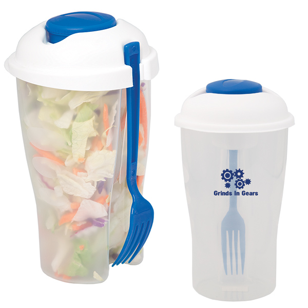 On-The-Go Salad Cup, KP8280, 1 Colour Imprint