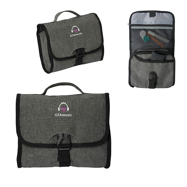 Savannah Cosmetic Bag, P9603, 1 Colour Imprint