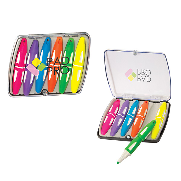 Glendale Highlighter Set, PE9317, 1 Colour Imprint