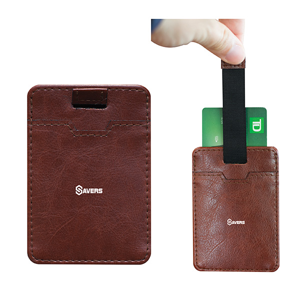 City Slick Card Holder Wallet, SL9360, 1 Colour Imprint