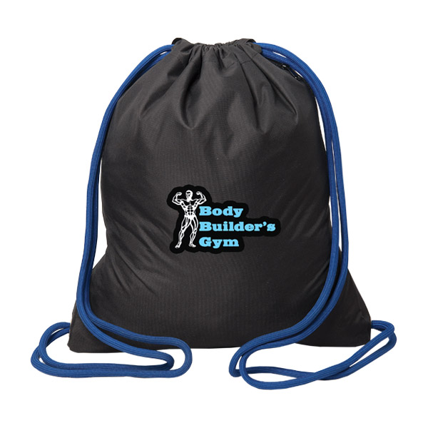 The Executive Drawstring Backpack, P8701, 1 Colour Imprint