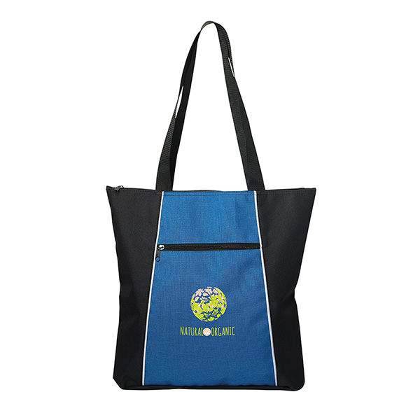 Savannah Polyester Tote, TO9338, 1 Colour Imprint