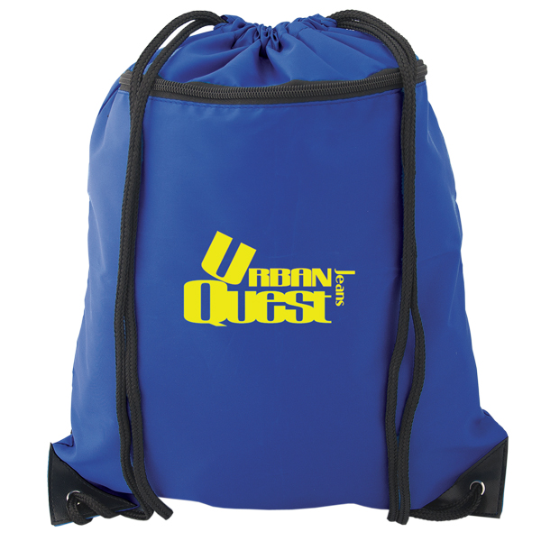Drawstring Backpack, P5978, 1 Colour Imprint