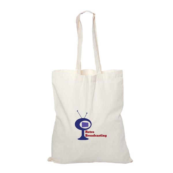 Cotton Tote Bag, E8000, 1 Colour Imprint