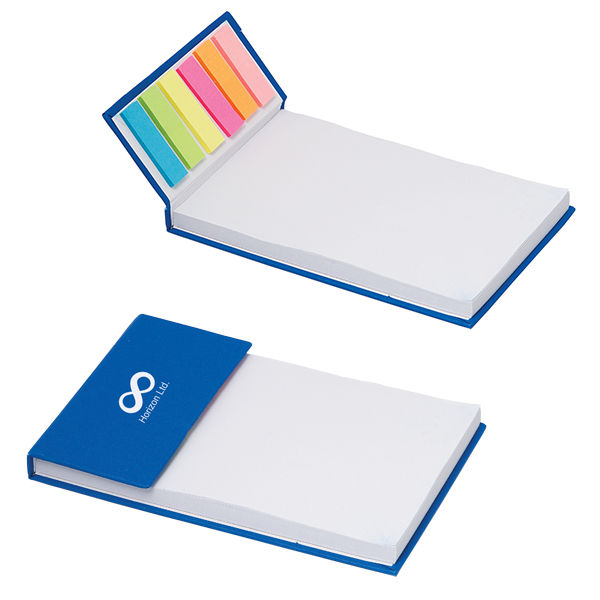 Notes Memopad With 150 Sticky Notes, CA6625, 1 Colour Imprint