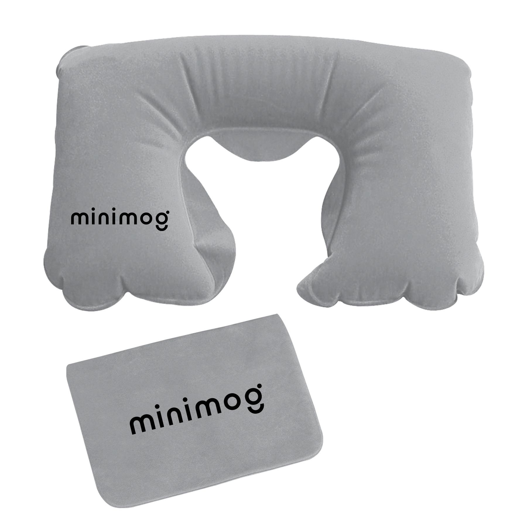 Neck Pillow, M3008, 1 Colour Imprint