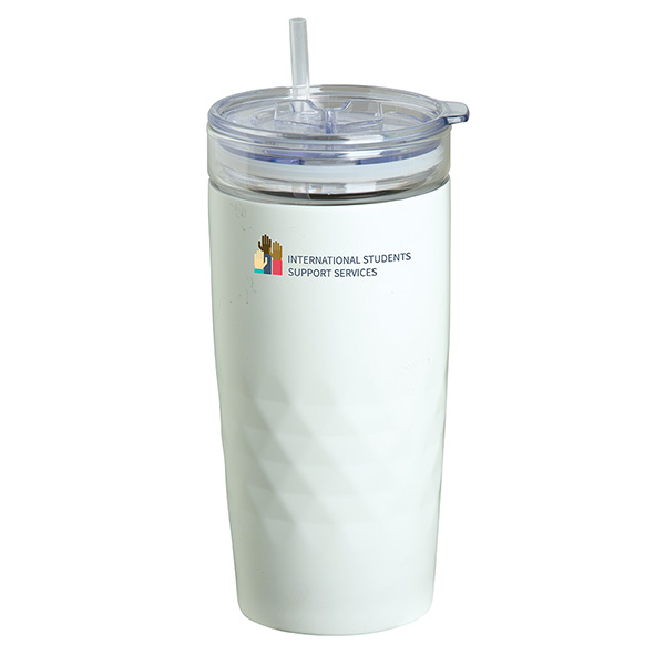 Ronbo 450 Ml. (15 Fl. Oz.) Travel Tumbler With Glass Liner, DA9632, 1 Colour Imprint