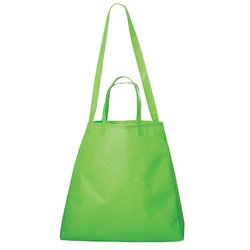 Metrohip Shopper Double Handle Non Woven Tote, NW8820, 1 Colour Imprint