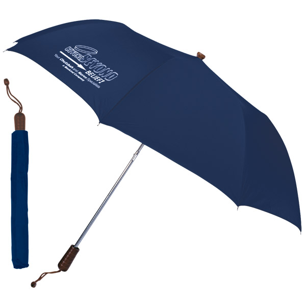 Folding Umbrella, UF304, 1 Colour Imprint