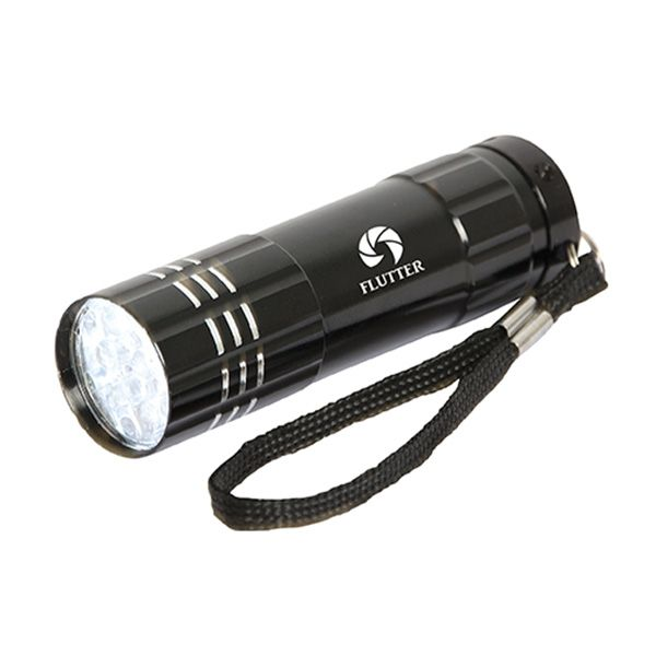 9 LED Flashlight, FL8239, 1 Colour Imprint
