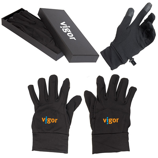 Touch Screen Gloves, CU8545, 1 Colour Imprint