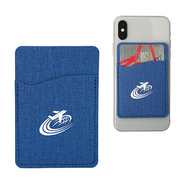 City Front Smartphone Wallet, CU9450, 1 Colour Imprint